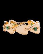 JCB Bracelet - Infinity Heart (Emerald)