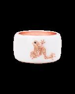 JCB Collection Bracelet - La Grenouille Pêche (Antique Rose)