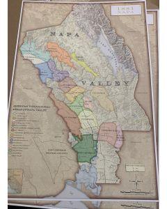 Napa AVA Map