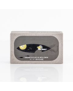 sardines in olive oil with lemon product image