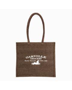 Oakville Grocery Medium-Sized Jute Shopper Bag