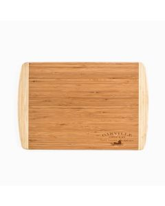 Oakville Grocery Bamboo Two-Toned Cutting Board