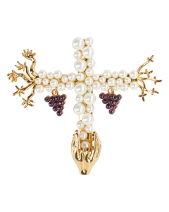 JCB Collection Brooch or Necklace - Saint Grape